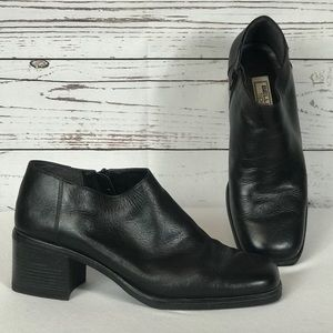 Bellini Leather Heeled Ankle Boots Booties 11
